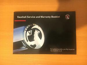 VAUXHALL-SERVICE-BOOK-NEW-BLANK-ALL-MODELS-ADAM