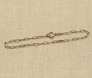 Silber-Bettelarmband-Kette-fuer-Anhaenger-solid-silver-chain-for-pendant-charm