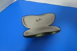 Ray-Ban-Eyeglass-Sunglass-Case-Hard-Clam-Shell-Black