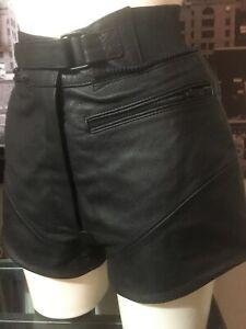 di genuini donna cuoio della pollici caldi mini pantaloni bicchierini signore nuova genuini delle Pantaloni 26 di 0Fq5xw