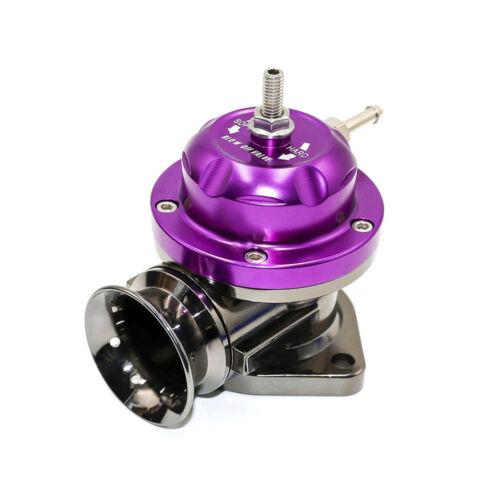 Purple Universal Type-RS Turbo Blow Off Valve Adjustable 25psi BOV Blow Dump