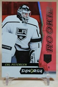 Cal Petersen Rookie 2018-19 Upper Deck Synergy Red Unscratched #42 LA Kings