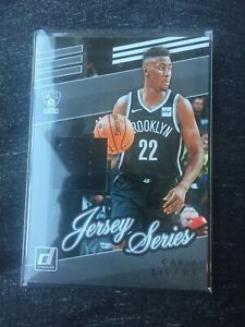 2019-20-Donruss-Basketball-CARIS-LeVERT-Jersey-Series-Relic-JS-CLV-Nets-NM