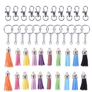 125Pcs-Set-Key-Chain-Ring-Pendants-Tassel-Bulk-for-DIY-Crafts-Jewelry-Making-UQ