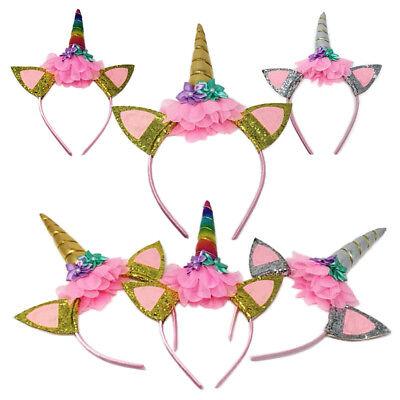 Methodisch Magische Einhorn Kopf Party Haar Stirnband Kostüm Cosplay Dekor Hl Der Preis Bleibt Stabil