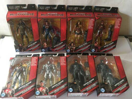 Multi-Univers Justice League Steppenwolf action figures-Full Set /& 3 mère cases