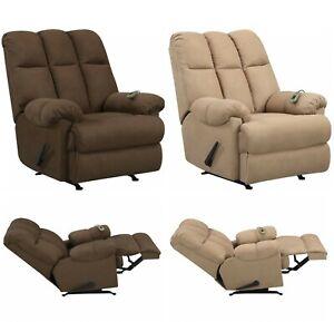 Awesome Details About Reclining Massage Rocker Chair Big Tall Recliner Seat Rocking Foam Seating Arm Uwap Interior Chair Design Uwaporg