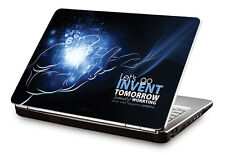 """Clublaptop Let's Go And Invent Tomorrow -CLS 177 Laptop Skin(For 15.6"""" Laptops)"""