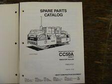 Dynapac Cc50a Series 2 Vibratory Compactor Asphalt Roller Parts Catalog Manual