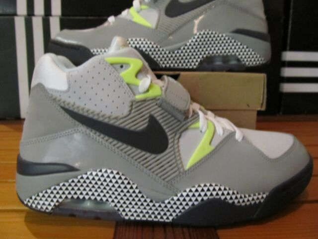 Nike Air Force 180 HOH CHARLES BARKLEY DAWN TO DUSK Grey 10 553547 013 max volt
