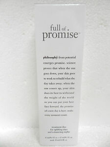 Philosophy Full of Promise Treatment Duo Facial Serum Clean And Clear Deep Action Cream Cleanser, Oil Free - 6.5 Oz, 6 Pack