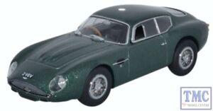 AMZ001-Oxford-Diecast-o-calibre-Aston-Martin-DB4GT-Zagato-2-vev-Verde-Metalico