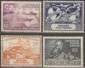 MALAYSIA-MALAYA-NEGERI-SEMBILAN-1949-UPU-SET-MH-CAT-RM-16