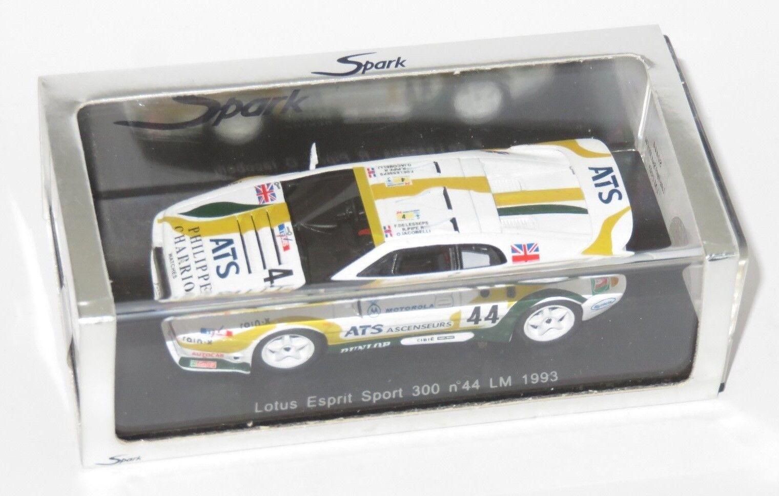 1 43 Lotus Esprit Sport 300 Chamberlain Engineering  Le Mans 24 Hrs 1993