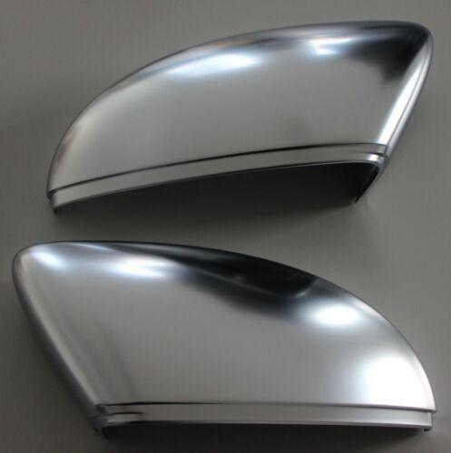 09+ 11+ Aluminium Alu Spiegelkappen passend für VW Beetle CC EOS Cabrio