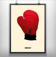 Rocky Minimalist Minimal Film Movie Print Poster