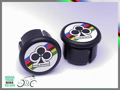 Rossin white black Plugs Caps Tapones guidon bouchon lenker vintage style 3D