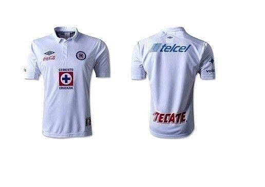 Umbro CRUZ blu Deportivo 2013 Mexico Football Soccer Jersey Shirt XL Mens DS