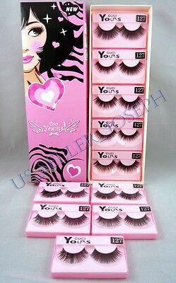 False Eyelashes 10 pairs Fashion Makeup Japanese style CUCI YOURS #127