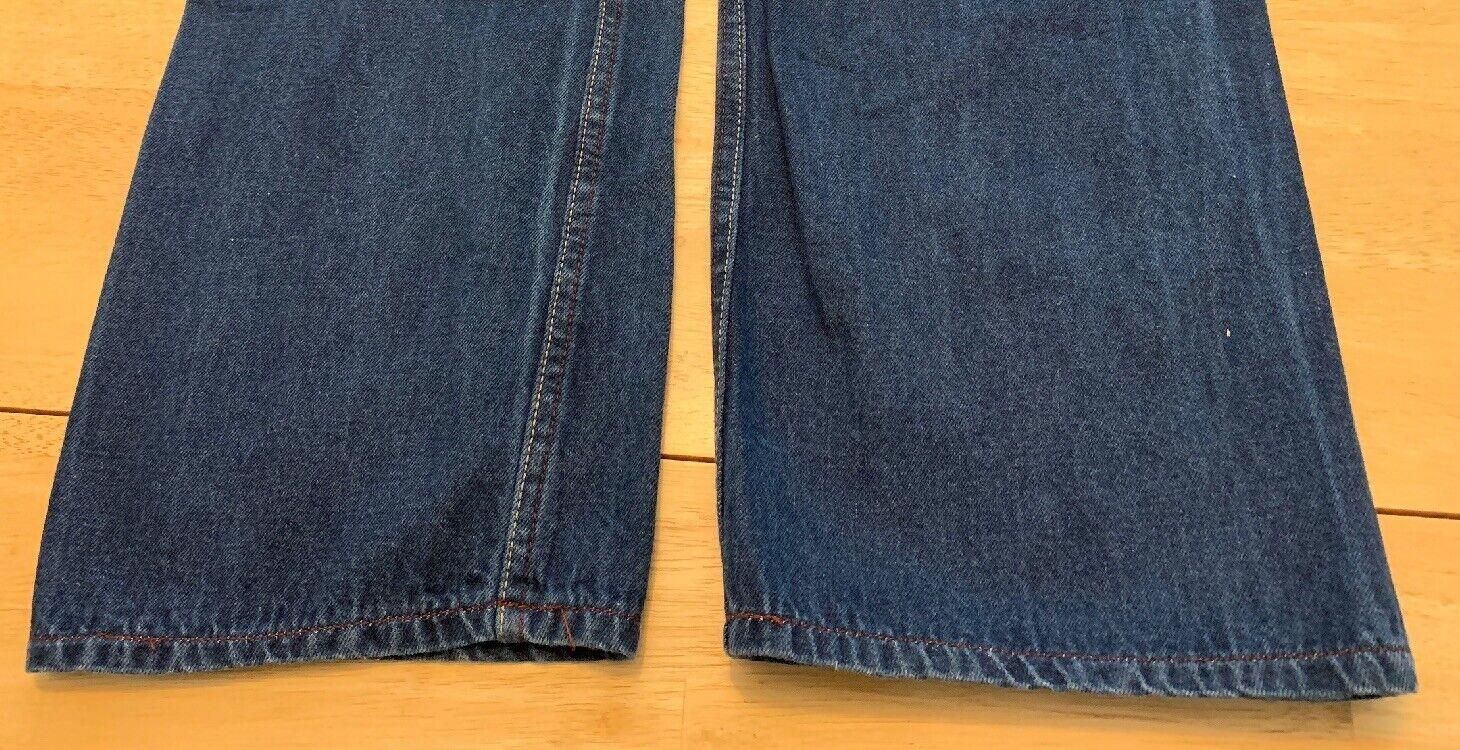 """Vintage N Est Ce Pas indigo denim jeans 24"""" waist… - image 10"""