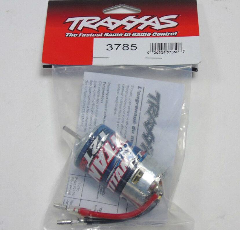 3785 Traxxas R C Parti Parti Parti Auto Elettrico Titan Motore 12T 550 Lattina Misura Nuovo 3a867e
