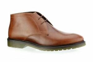 new-MEN-039-S-Red-Tape-Edworth-Dark-Tan-Leather-Mens-Smart-Chukka-Boots-size-9