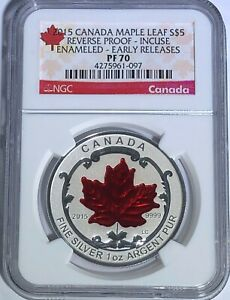 2015-5-CANADA-SILVER-MAPLE-LEAF-NGC-PF70-ER-REVERSE-PROOF-INCUSE-ENAMELED-1-OZ