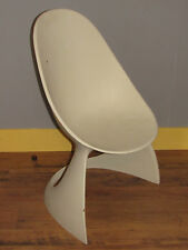 01C9 CHAISE DESIGN ŒUF A IDENTIFIER VERNER PANTON KNOLL ETC POLYESTER 1950-1970