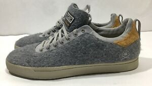 Details about Adidas Men's Ransom Gray Wool Strata Shoes Size 7