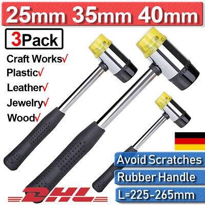 Ausbeulhammer Gummihammer Kunststoffhammer Schonhammer Hämmer 30mm//35mm//40mm