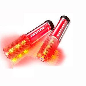 2-Pack-SafeFlare-Waterproof-Floating-Handheld-Emergency-9-LED-Flare-Light