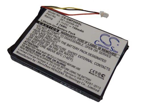 Pro Trashbreaker BATTERY 750mAh for Garmin 010-11925-10 TB 10 PT 10