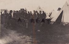 Soldier Group 14th London Regiment London Scottish Frith Hill Camp 1912