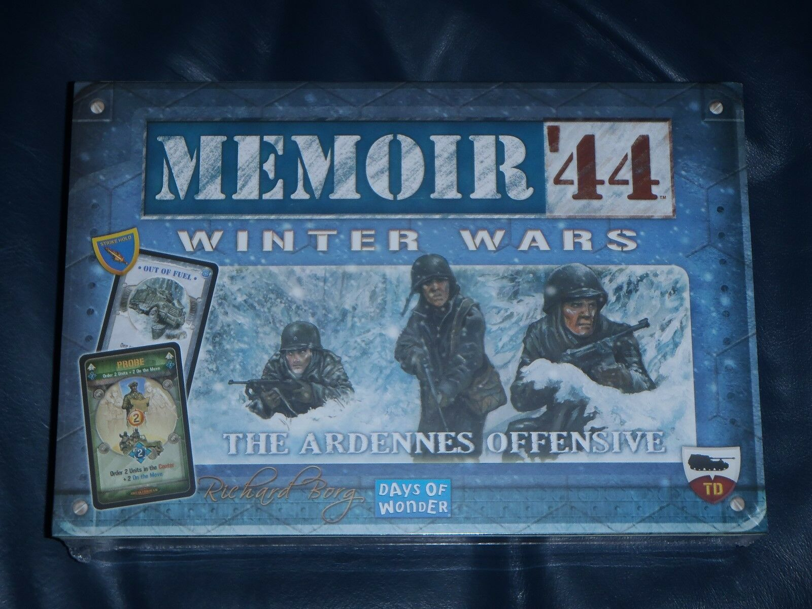 Memoir 44 WINTER WARS, Ardennes Offensive Board Game Expansion NEW + SEALED