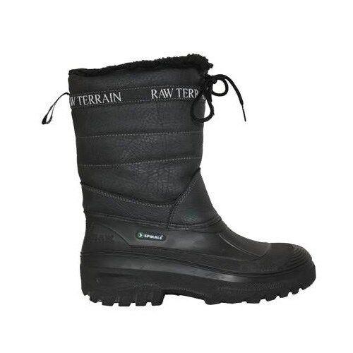 Aquarius Terrain Boots Black Sizes UK 34 - 47