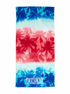 Image Is Loading Victoria Secret Pink Americana Tropical Palm Tree Beach