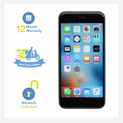 Apple iPhone 6S Plus 64GB Space Grey - Grade A+ - Unlocked Smartphone