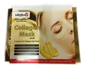 3-x-Pack-New-Crystal-24K-Gold-Powder-Gel-Collagen-Eye-Mask-Masks-Sheet-Patch