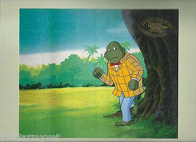 TEENAGE MUTANT NINJA TURTLES Rare Original Production Animation Cell #50-54