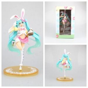 New in Box 23CM Hatsune Miku season Spring ver PVC Action Anime Figure Toy