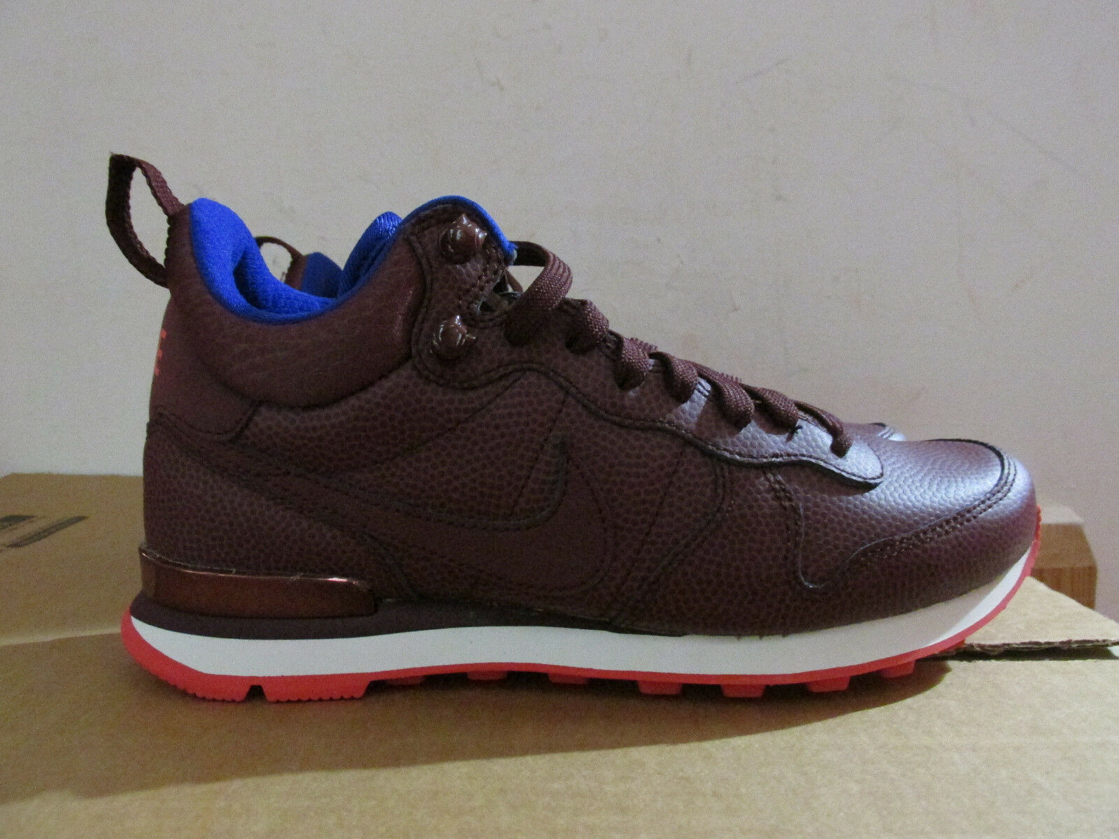 Nike Damenschuhe Top Internationalist Mid Lthr Hi Top Damenschuhe Trainers 859549 600 CLEARANCE be9c8e