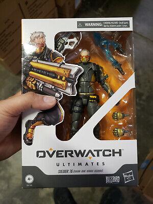Action Figure Exclusive IN STOCK Hasbro Overwatch Ultimates Genji Chrome Skin