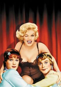 SOME-LIKE-IT-HOT-Movie-PHOTO-Print-POSTER-Textless-Film-Art-Marilyn-Monroe-002
