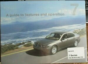 Bmw 7 Series E65 Guide To Features Operation Vers 05 30 03 New Still Sealed Ebay