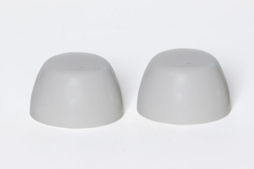 Set of 2 Toto Replacement Toilet Bolt Caps Gray
