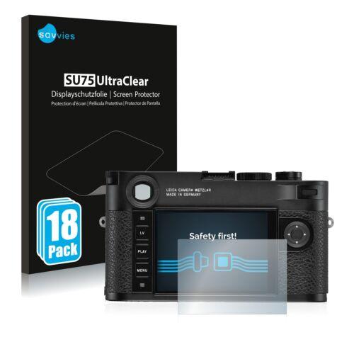 18x protector de pantalla para Leica m10-r lámina protectora claramente protector de pantalla
