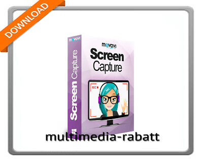 Software Niedrigerer Preis Mit Movavi Screen Capture 8 Lite Online-video Streams Aufnehmen