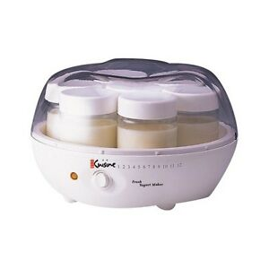Euro cuisine yogurt maker ym80 ebay for Automatic yogurt maker by euro cuisine