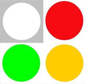 Markierungspunkte Klebepunkte 30mm Leuchtrot Rot 40 80 120 160 200 240 280 320