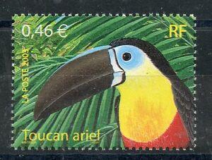Courageux Timbre France Neuf N° 3549 ** Faune Toucan Ariel Pour Assurer Une Transmission En Douceur